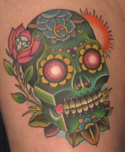 nate beavers- sugar skull gallery